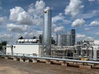 Biogasaufbereitungsanlage / Foto: Quelle: Ohra Energie