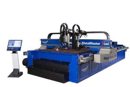 Der neue MetalMaster Xcel erledigt Plasma- sowie Laserschnitte mit höchster Präzision und Speed. Optional ist auch Plasmafasenschneiden möglich