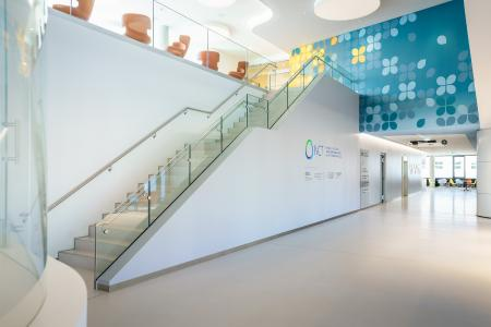 Der handverlegte LW MUSEUMS TERRAZZO passt optimal zum gewünschten offenen und stilvollen Look des NCT/UCC (© NCT/UCC/André Wirsig)