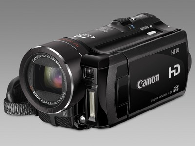 HF100 und HF10: High-Definition-Camcorder mit Flash-Memory-System