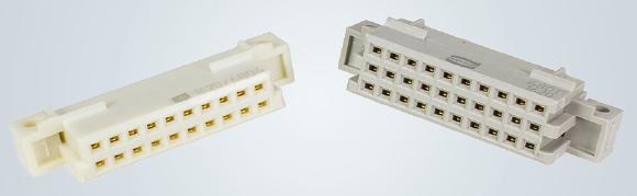 HARTING bietet mit den neuen DIN 41612 Federleisten der Bauform 3Q/3R die passende miniaturisierte Verbindungstechnik