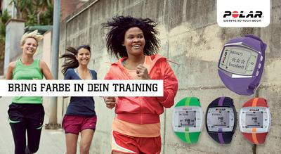 Bring Farbe in dein Training