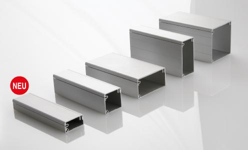 Die neue kleine Baugröße KK-40x20 rundet das Produktprogramm des BLOCAN®-Kabelkanal-Systems nach unten ab