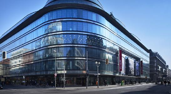 Galeries Lafayette Berlin counts on Paylink from Concardis © Galeries Lafayette Berlin