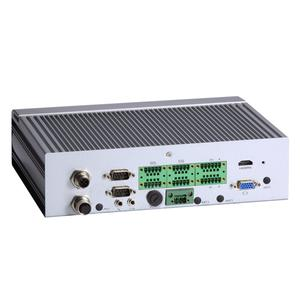 Axiomtek's tBOX313-835-FL Fanless Embedded System with Intel® Atom™ Processor E3845 Quad-Core (1.91 GHz) for Vehicle PC