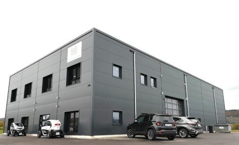 Firmengebäude von Leslii