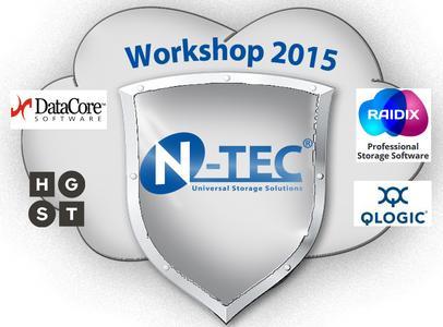 """N-TEC """"Hyper Converged Storage"""" Workshop Tour im Oktober in München, Frankfurt und Wolfsburg"""