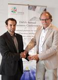 EMVA presents Young Professional Award for medical tracking system to Benjamin Busam of FRAMOS