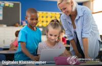 Digitales Klassenzimmer - Um die Bildung zu digitalisieren bedarf es mehr als nur die Ausstattung der Schulen und Universitäten mit Endgeräten und Breitbandanschlüssen