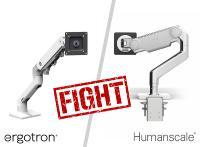Humanscale M10 vs. Ergotron HX Monitorhalterungen