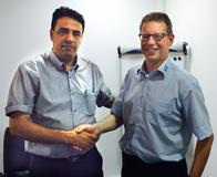 From left to right: Khaled BOUALI, Directeur Général Oxxo; Peter Dixen, A+W Vice President Sales and Marketing