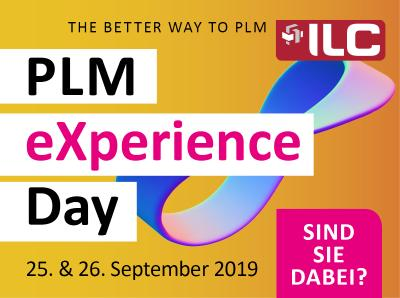 PLM eXperience Day am 25./26.09.2019 in Wiesbaden
