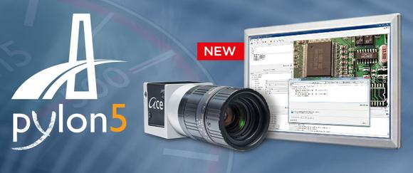 Basler stellt mit der pylon 5 Camera Software Suite als erster Kamerahersteller überhaupt eine Software zur Verfügung, die die neue GenICam 3-Technologie verwendet