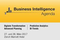 5. Business Intelligence Agenda am 28. März in Zürich