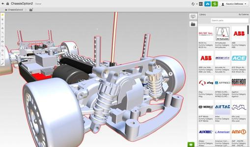 This is the world's first interactive application with the ability to integrate an enterprise-grade manufacturing library directly into the 3D design environment