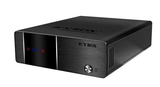 The new ICY BOX IB-MP3010HW multimedia recorder and player