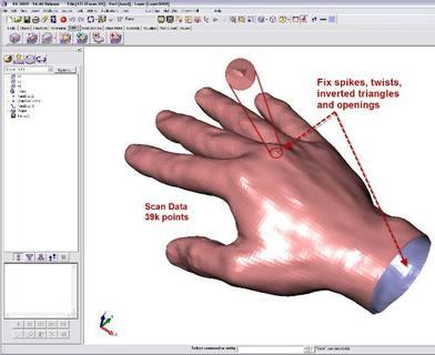Neue Möglichkeiten zur STL Bearbeitung & Reparatur in VX CAD/CAM Release 14.40