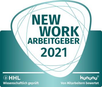 slashwhy mit New Work Arbeitgebersiegel ausgezeichnet