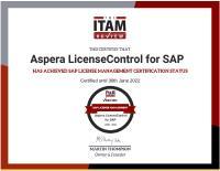 Aspera erhält SAP-Lizenzmanagement-Zertifizierung von ITAM Review