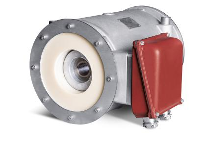 New drive for vacuum blowers with hermetically sealed motor for the high vacuum range from 200 to 10-5 mbar