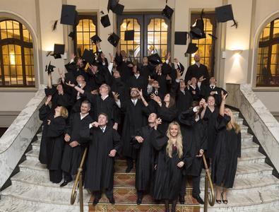 MBA-Absolventen des RheinAhrCampus der Hochschule Koblenz