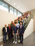 Gruppenbild Absolventen / Bildnachweis: Firmengruppe Max Bögl