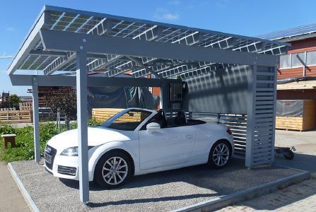 Beispiel Solarcarport
