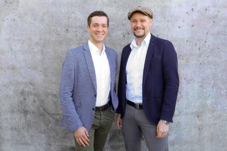 tacterion Gründer Daniel Strohmayr links / Michael Strohmayr rechts