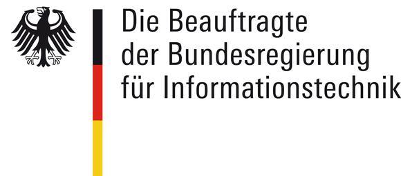 Logo der Schirmherrin und Bundesbeauftragten für Informationstechnik