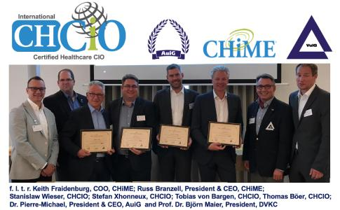 2019.05.16_AuiG-CHiME_vier der ersten acht CHCIOs im deutschsprachigen Raum