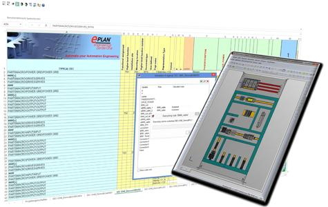Mit der Kopplung von EEC One und Eplan Pro Panel Professional lassen sich Montageplattenlayouts künftig automatisch generieren