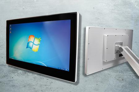 Industrial Multitouch HMI with integrated COMSys processing unit by TQ