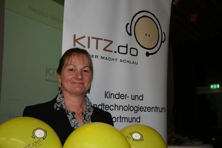Dr. Ulrike Martin, die neue Leiterin des Kinder- und Jugendtechnologiezentrums Dortmund