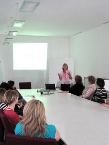 Vortrag beim azh Gesundheitstag