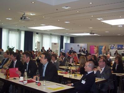 Auditorium des Forderungs- und Risikomanagement Tages in München
