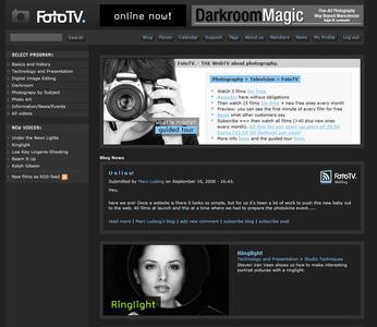 Webseite FotoTV.com