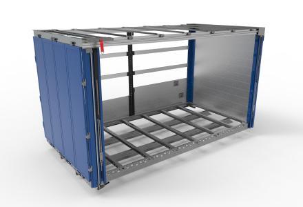 Elting und WIHAG Fahrzeugbausysteme GmbH stellen auf der IAA Nutzfahrzeuge den gemeinsam entwickelten Alu-Curtainsider mit VarioFRAME-Unterbau und integrierter VarioSAVE-Ladungssicherung vor.