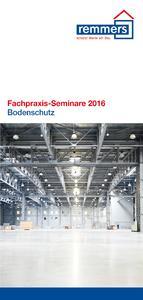 """Die Fachpraxis-Seminare """"Bodenschutz für Einsteiger"""" bieten dem ausführenden Handwerk an 12 Terminen eine umfassende Informationsplattform / Bildquelle: Remmers Baustofftechnik, Löningen"""