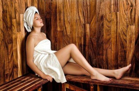 Sauna gehört zur Wellness