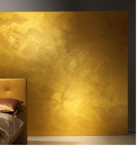 Die Effektbeschichtung CapaGold sorgt zusammen mit der Spezialgrundierung GoldGrund insbesondere auf strukturierten Flächen für einen hochreinen, klaren Goldfarbton