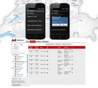 Check Ins as smart communication feature