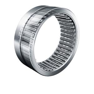 INA's -D machined needle roller bearings in X-life quality feature a newly developed, profiled steel cage produced by optimized forming methods that allows a significantly higher load carrying capacity to be achieved. The cage is designed in such a way that the number of needle rollers and the needle roller length can be be increased while maintaining the same bearing dimensions (Image: Schaeffler)