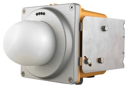 Symeo DR-1DHP, 1D distance measurement, robust and maintenance-free, ideal for measurements in outdoor areas, Image: Symeo