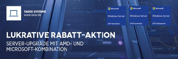 Rabatt Aktion AMD/Windows Server 2019