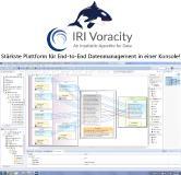 Sie können die IRI Voracity-Plattform für totales Datenmanagement auf Basis von CoSort (oder Hadoop) nutzen, um unterschiedliche Datenquellen zu bündeln. Sie können verwandte Elemente zu mehreren, speziell angefertigten, benutzerdefinierten Zielen vereinheitlichen und destillieren, die für Forschung und Analytik geeignet sind.