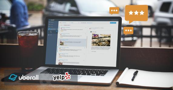 Mutual enterprises of Yelp and uberall will have the opportunity to take 100 reviews per location. Standalone uberall clients can take 3 review snippets per location