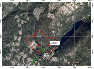 Ximen's Mining Update, Drill Test of Geophysical Anomaly Intersected over 235 metres of Magnetite Mineralization Gold Drop Property  Greenwood BC