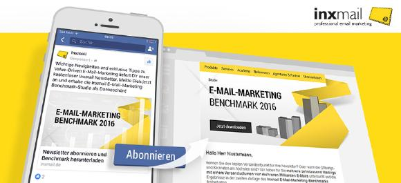 Facebook Lead Ads Integration für Inxmail Professional