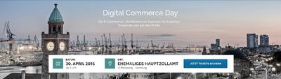 Agenda für den Digital Commerce Day 2015 steht fest