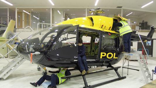 PSNI EC145 Oxford  © Copyright Eurocopter UK
